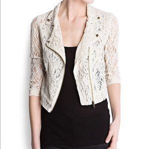 Mango lace jacket